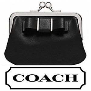 Coach Darcy Bow Framed Coin Case